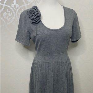 kate spade Dresses - KATE SPADE XL GREY 100% SOFT WOOL DRESS